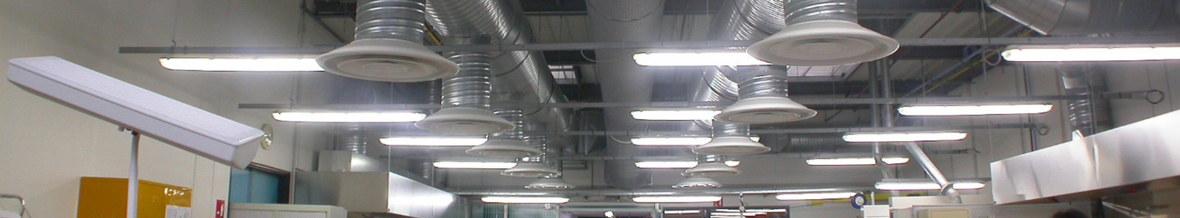Reseau Traitement d'air usine Desrues chantier A3 Berthélémy